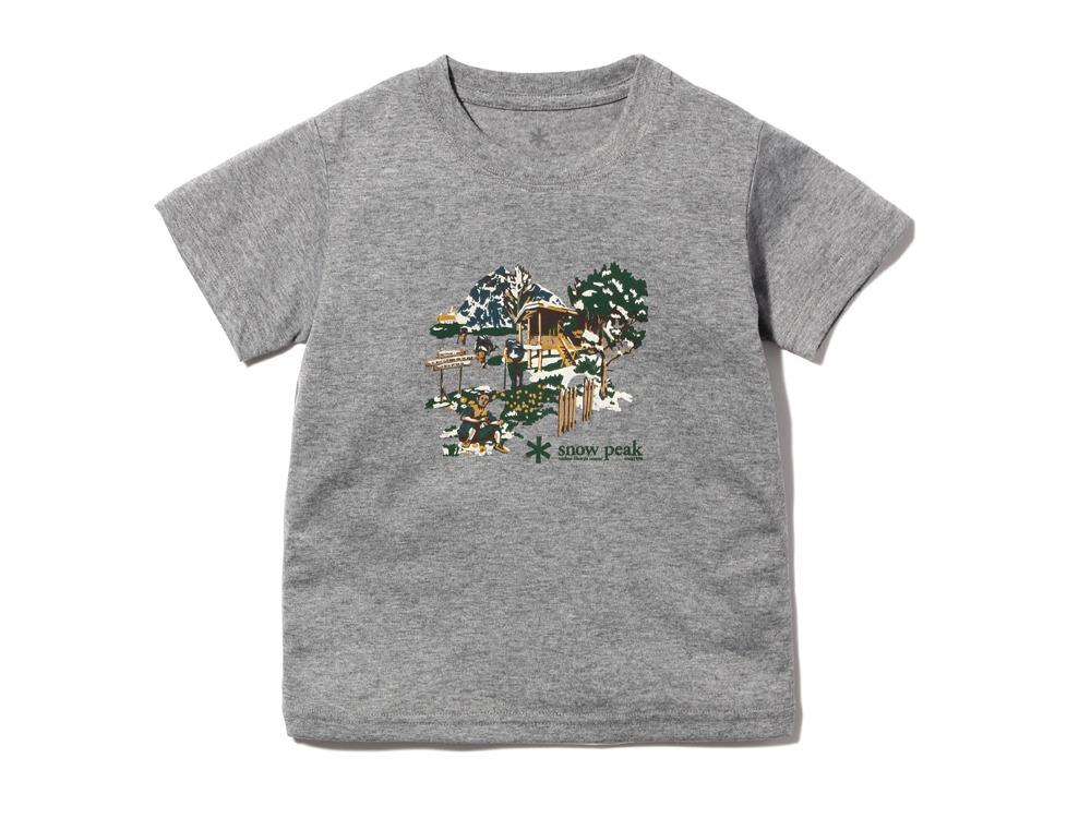 Kid's Campfield Tshirt1M.grey