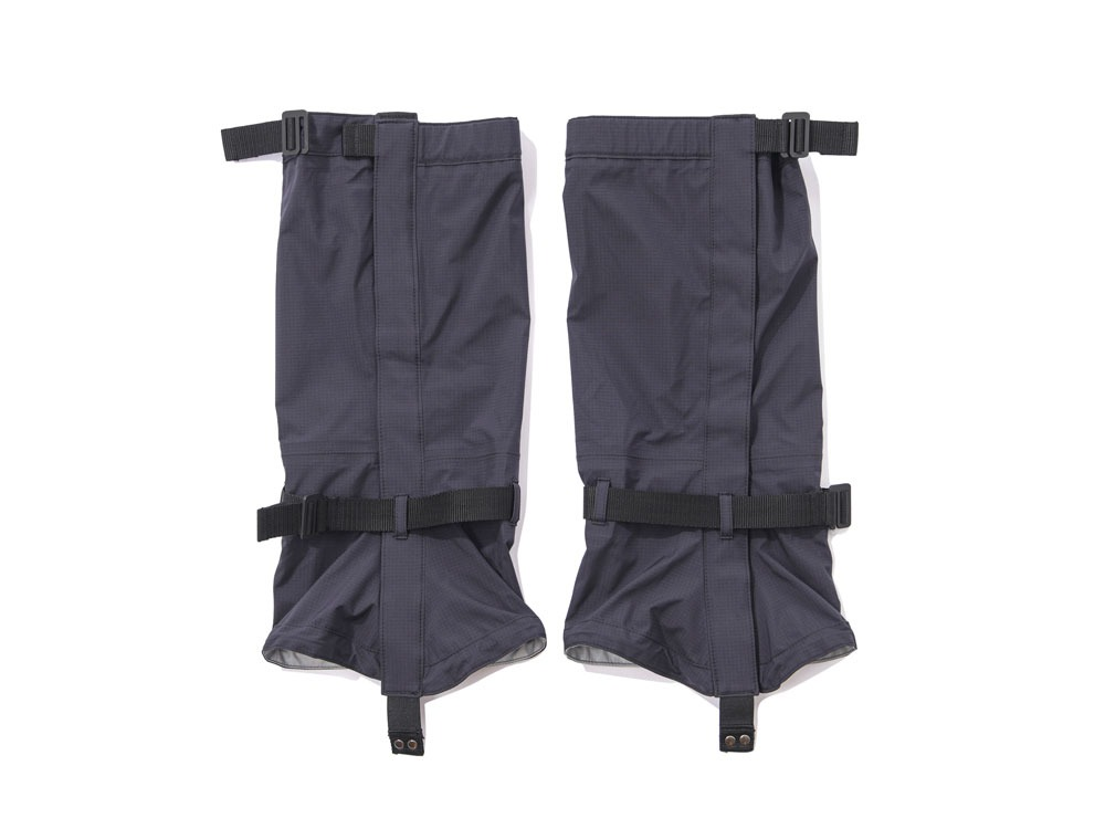 Snow Peak×TDS W/P Event Gaiters One Black