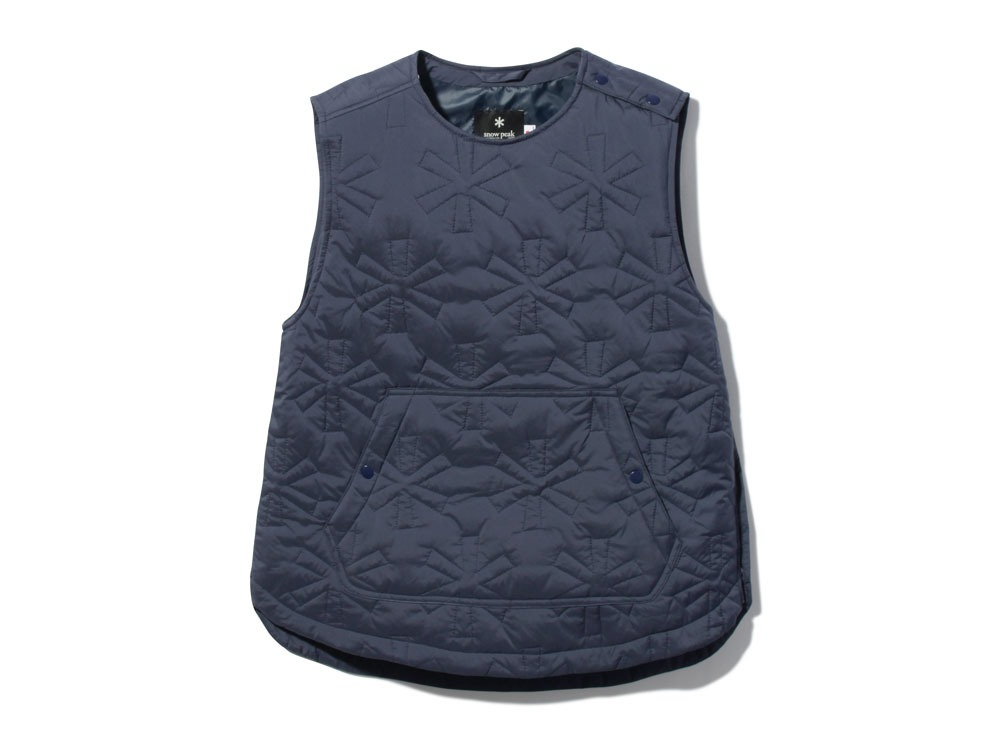 Quilting puff Vest 2 Navy0
