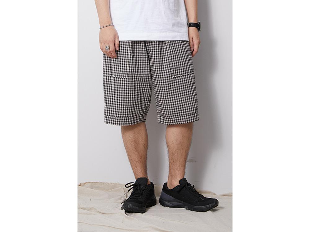 C/L Panama Easy Shorts M BlackCheck