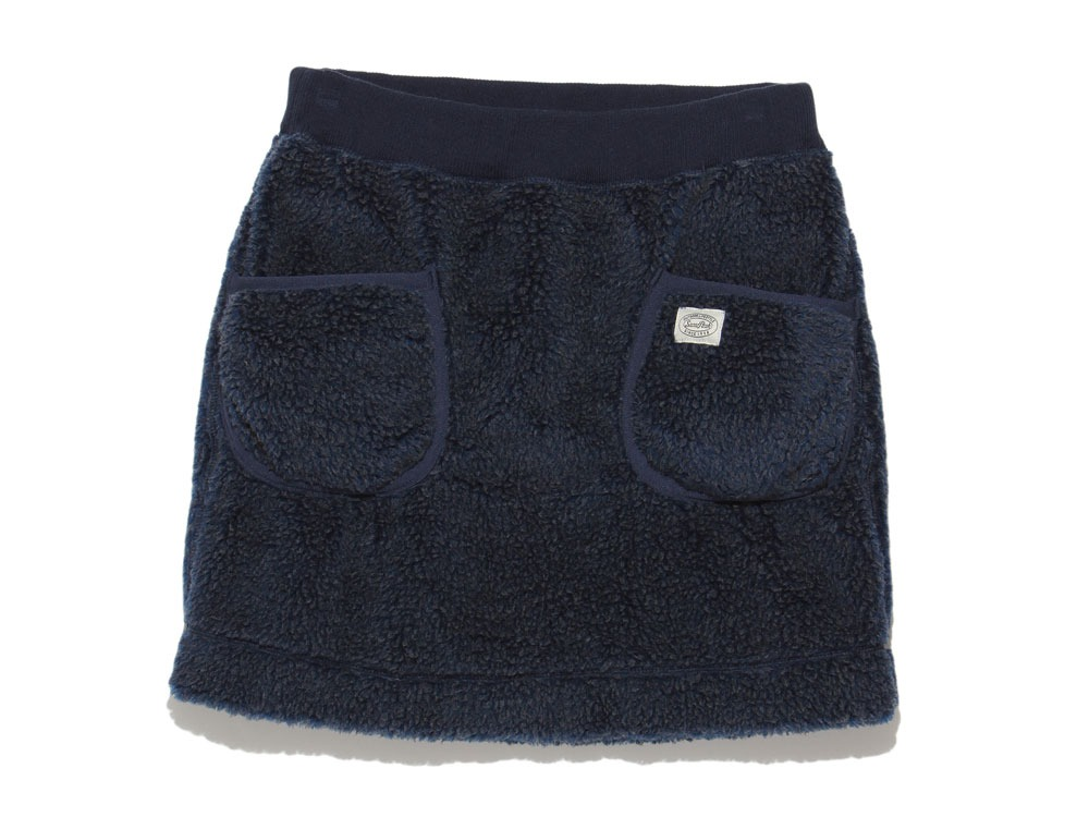 Soft Wool Fleece Skirt 4 Blue0