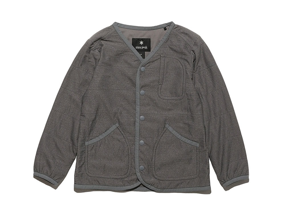 Kids Flexible Insulated Cardigan 1 Grey0
