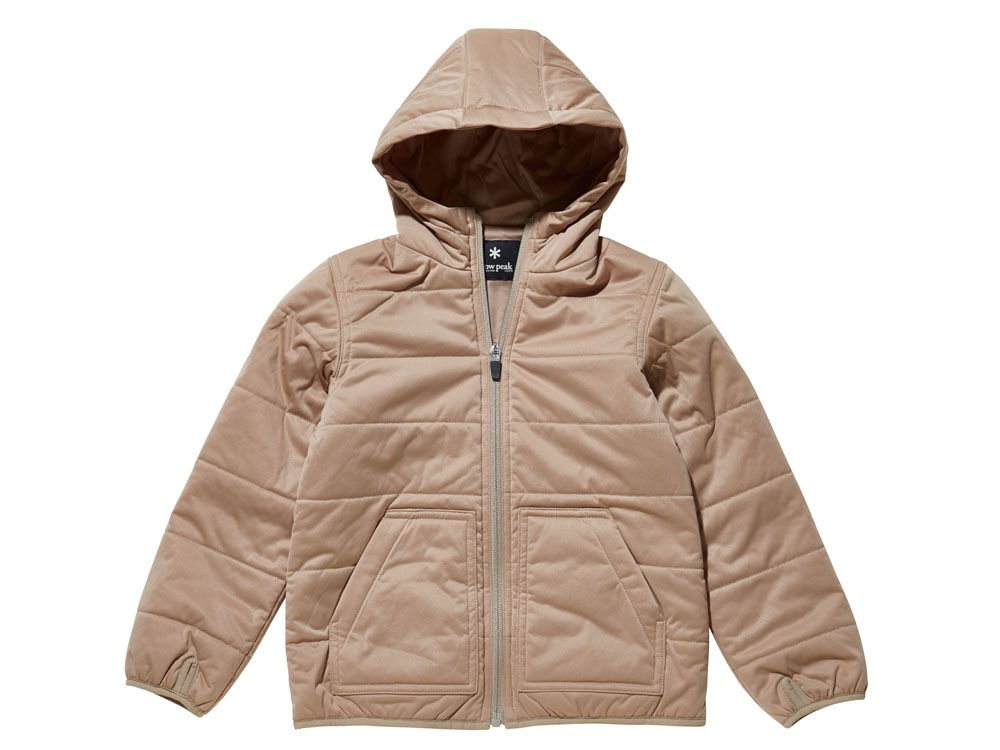Kids Flexible Insulated Hoodie 1 Beige0