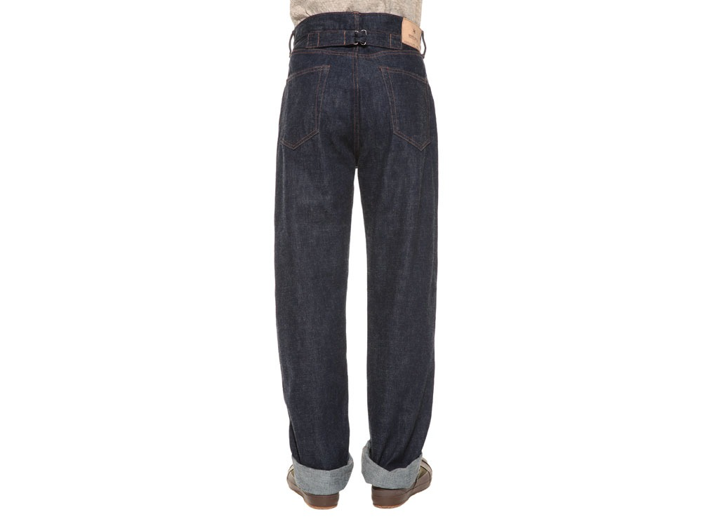 Selvage  Denim Pants Slim Fit36 Stone Wash4