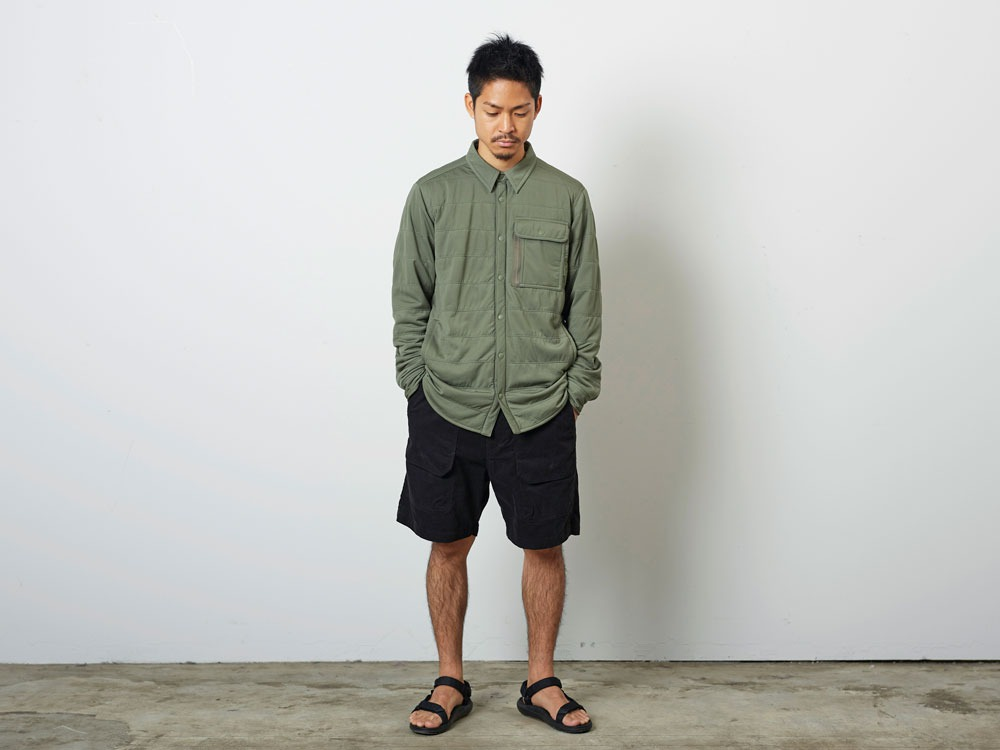FlexibleInsulatedShirt  L Olive1