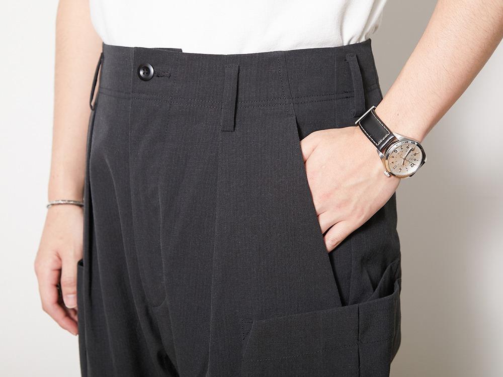 TAKIBI Pants M Olive