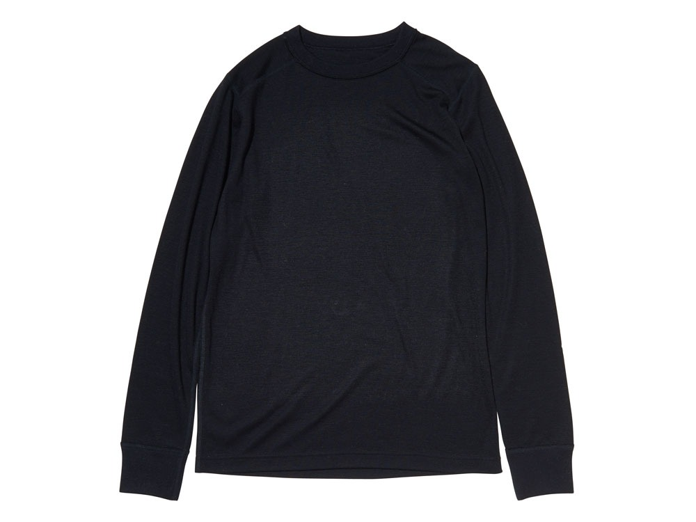 Super 100 Wool Shirt L Black0