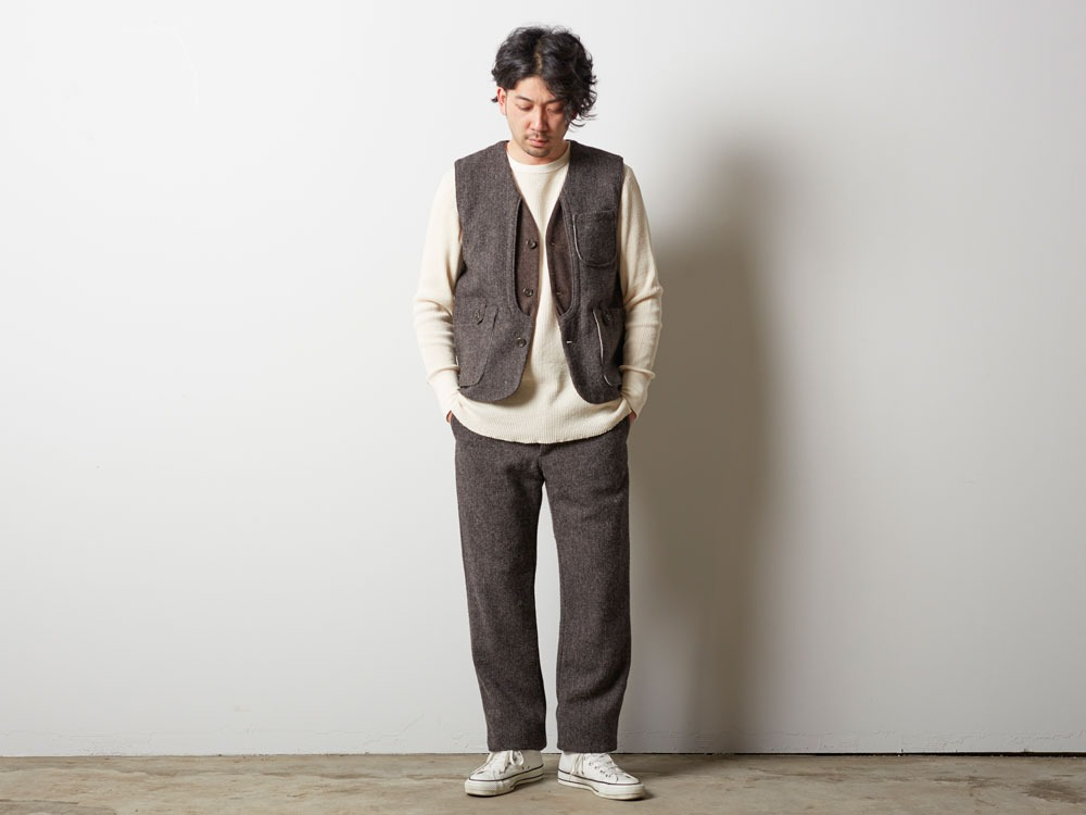 Camping Wool Pants 2 Grey1