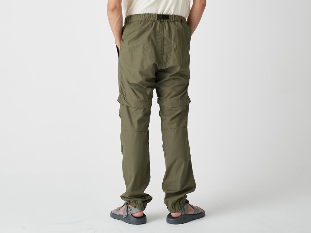 Camping 2WAY Field Pants S Brown5