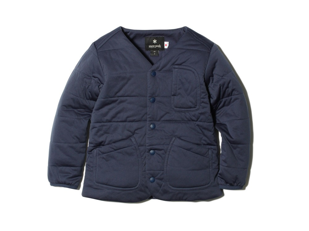 Kids Flexible Insulated Cardigan 1NAVY