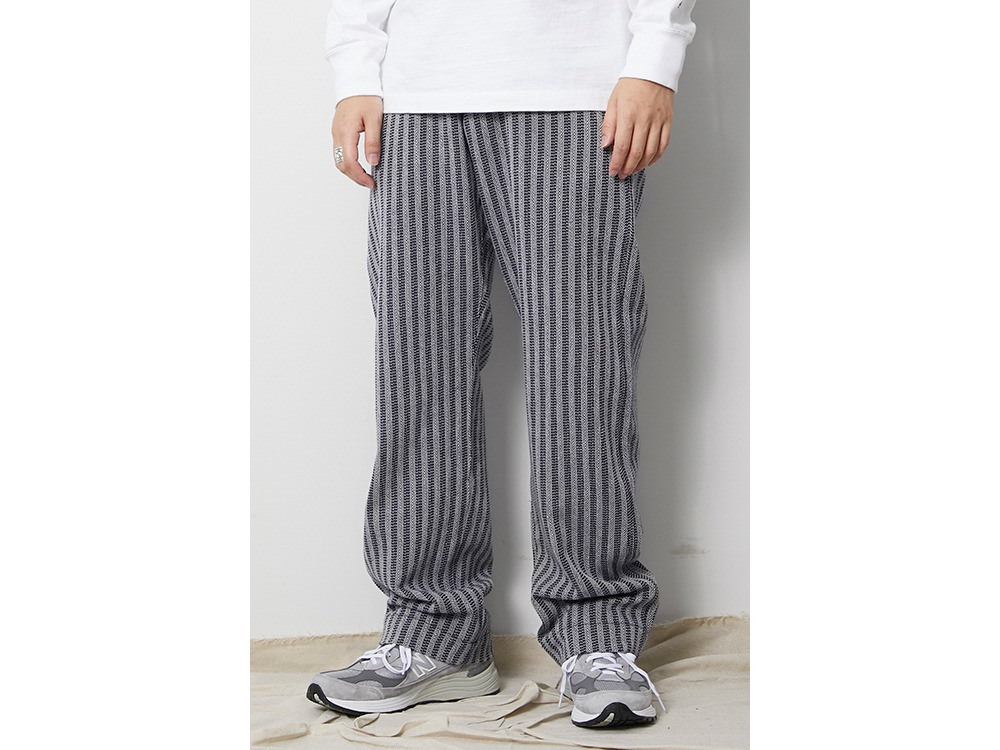 Cotton Herringbone Stripe Wide PT S NV