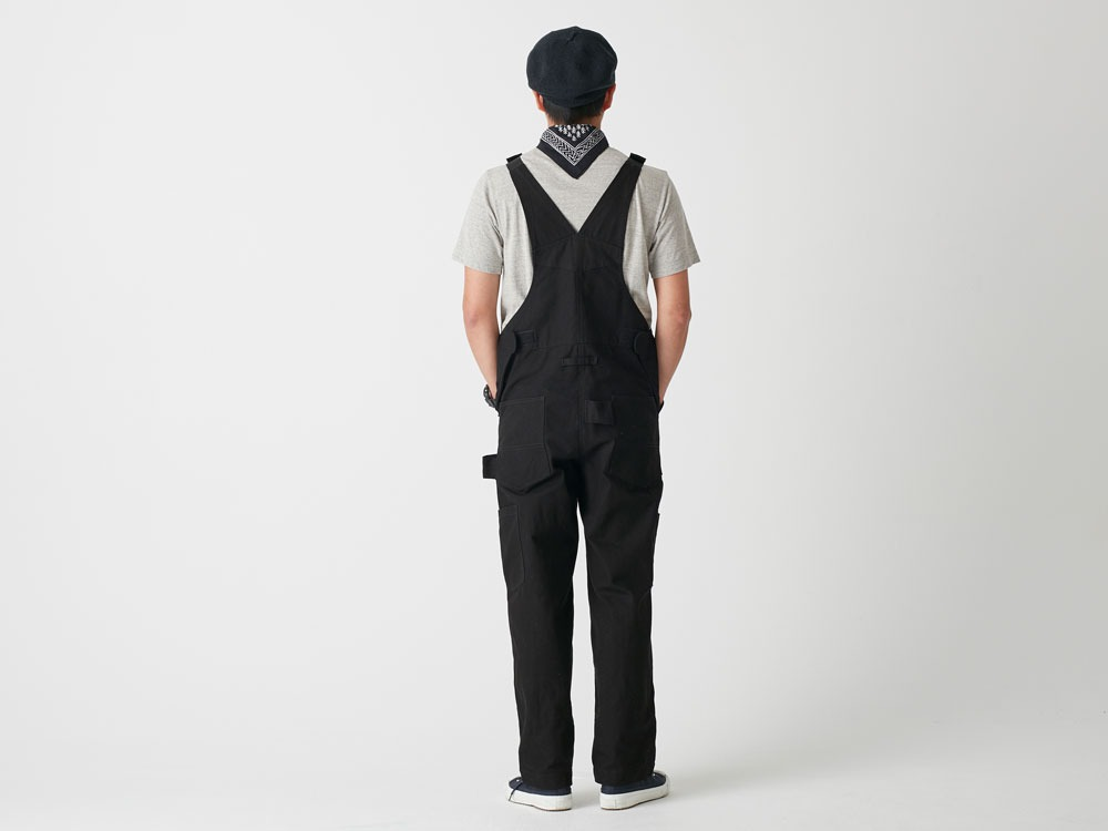 Camping Field Overalls 1 Black3