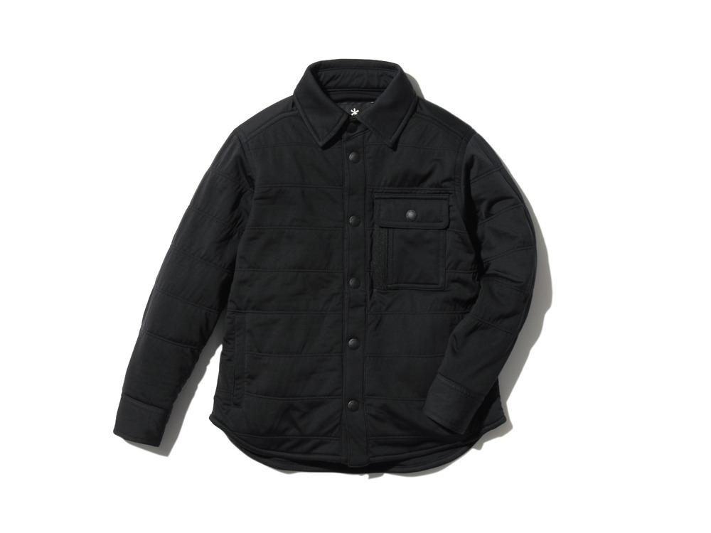 キッズフレキシブルインサレーションシャツ  4 ブラック