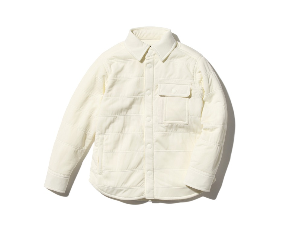 KidsFlexibleInsulatedShirt 3 White0