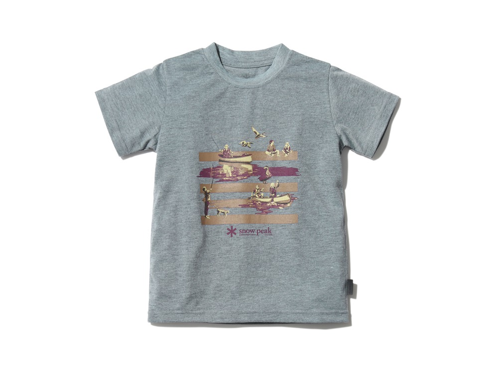 Kid'sQuickDryTshirt/Field3 M.grey0