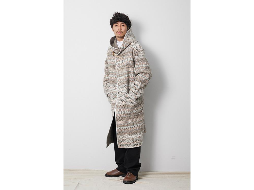 Wool Blanket Coat 1 Ecru