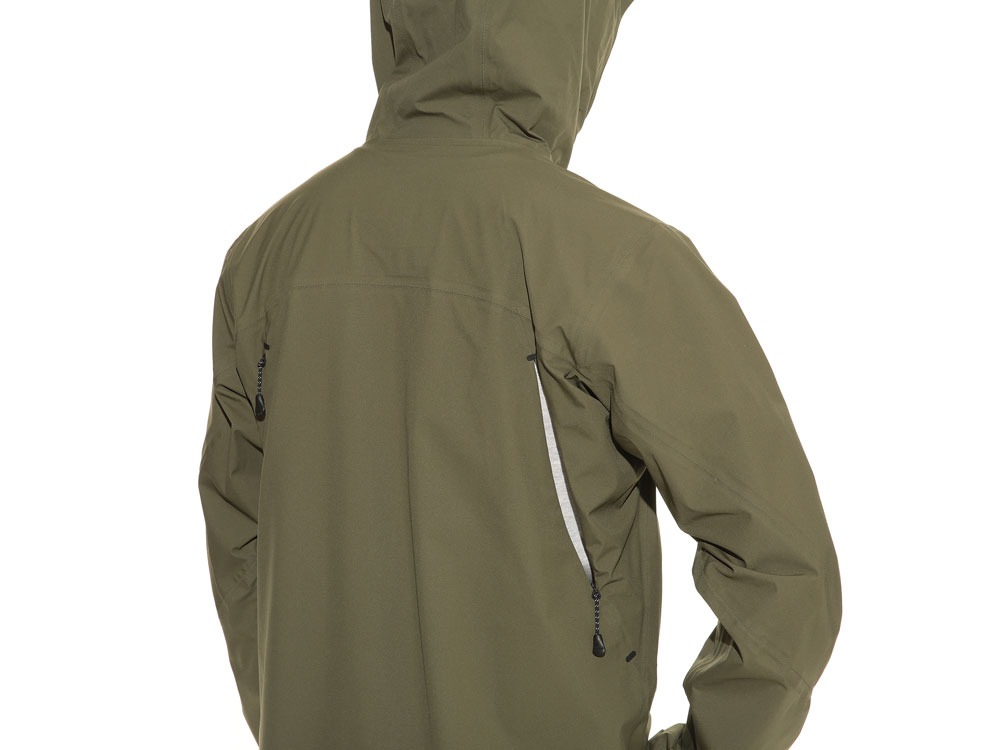 3L Light Shell Jacket S Olive8