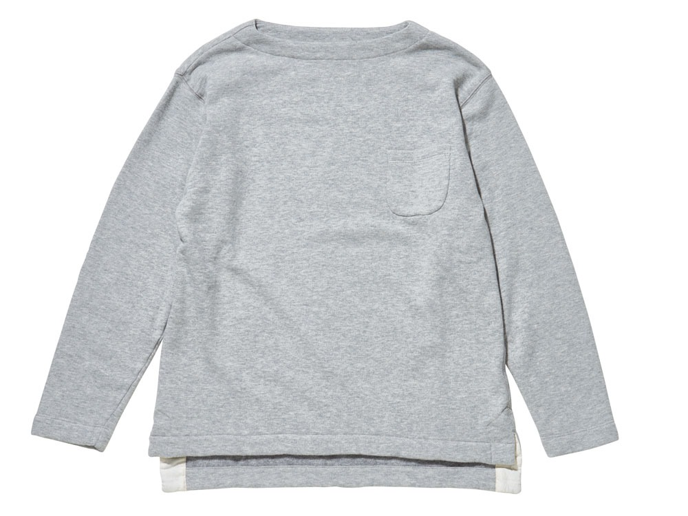 Cashmere Sweat Pullover 1 Grey
