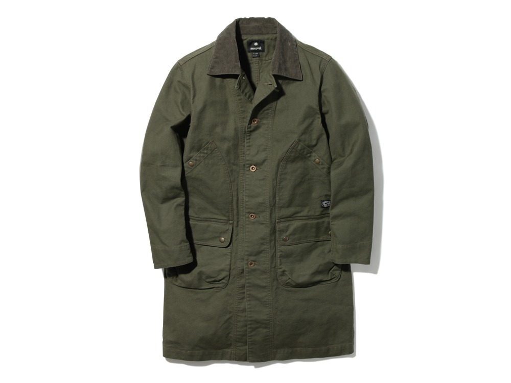 TAKIBI Shop Coat 2 Olive0
