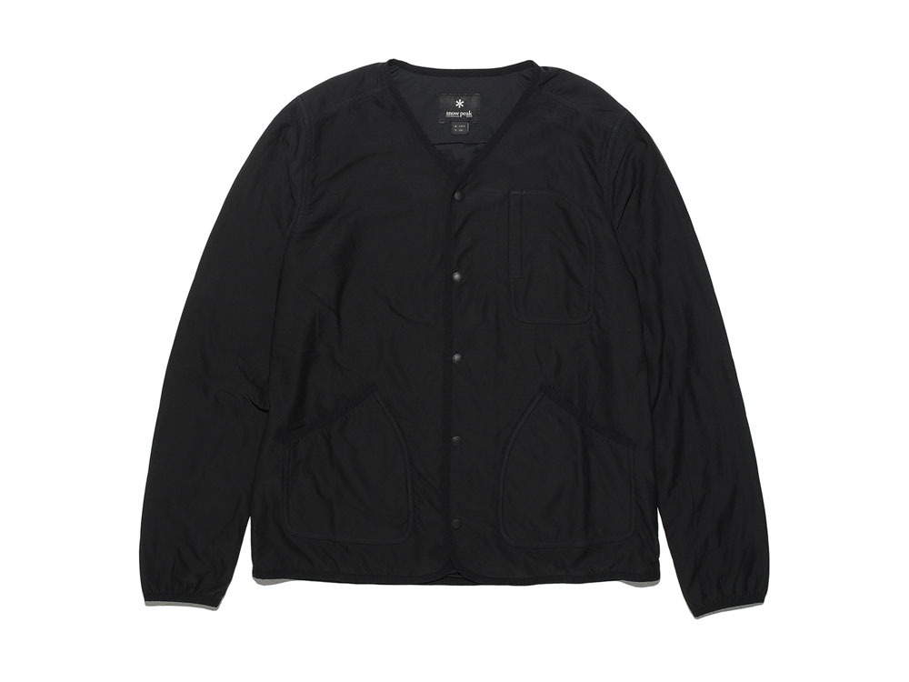 FlexibleInsulated Cardigan L Black0
