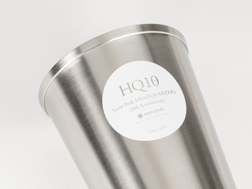 HQ10周年記念 エコカップ