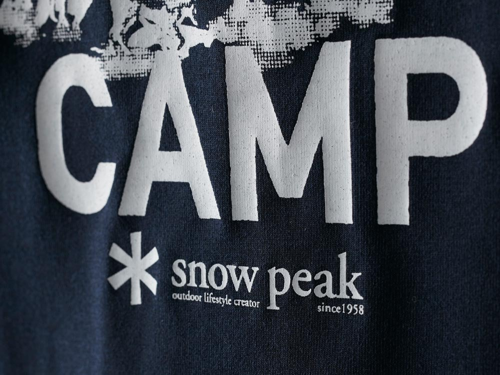 Printed Tshirt:Camp Field S Navy6
