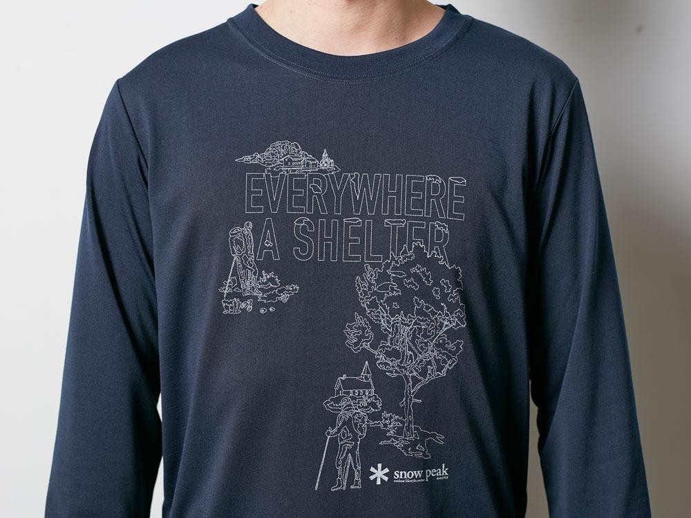Campfield Long Tshirt M Melange Grey6