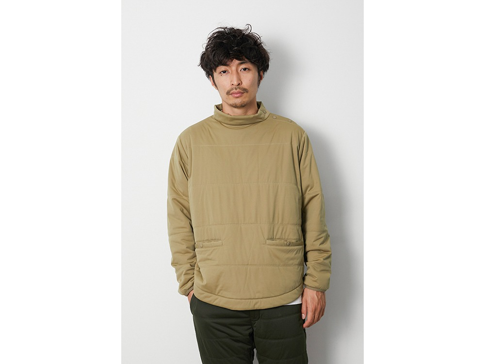 Flexible Insulated TunicPullover L BK