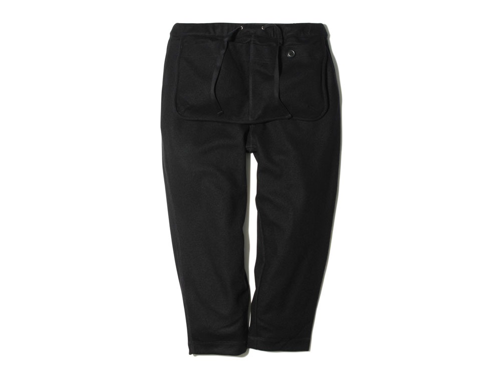 Wool Tight Knit Pants M Black0