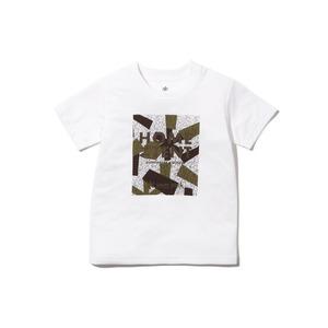 キッズレインカモフラージュティーシャツ