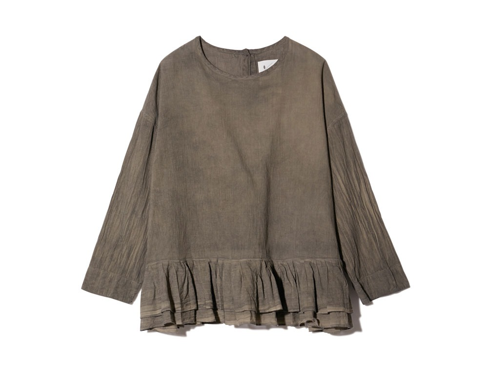 OG Cotton Pleated Pullover 2 SUMI