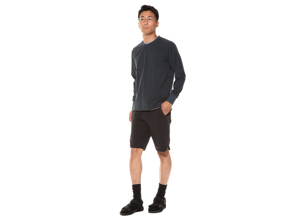 WR&Stretch Pullover 1 Black1