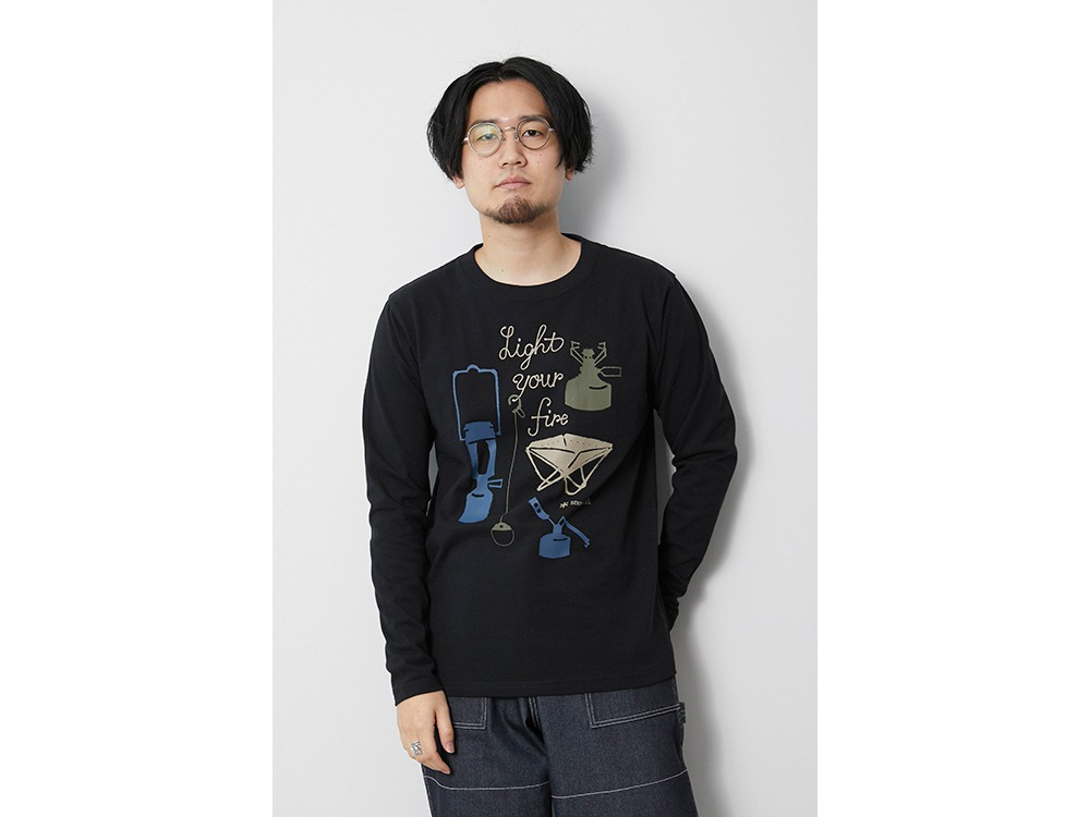 Light your Fire L/S Tee M Black