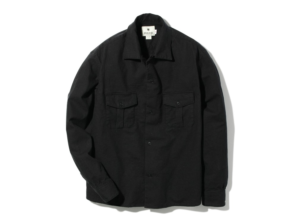 Safari Linen Shirt M Black0