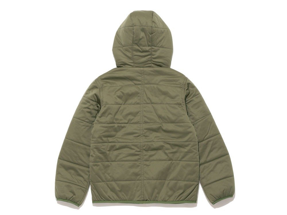 Kids Fx Insulated Hoodie 4 Olive1