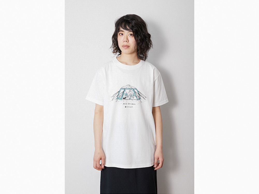 Lounge Shell Tee S Black