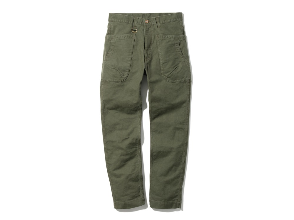 TAKIBI Pants M Olive0