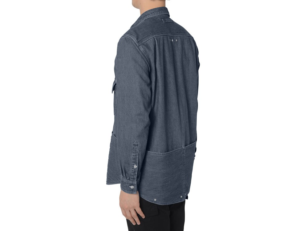 Field Denim Pullover S Black2