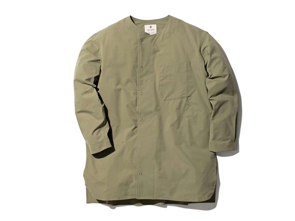Quick Dry Sleeping Shirt M Olive
