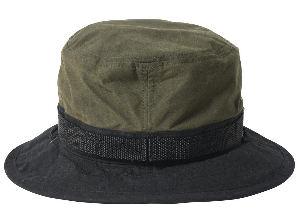 Paraffin Wax Safari Hat 1 Khaki1