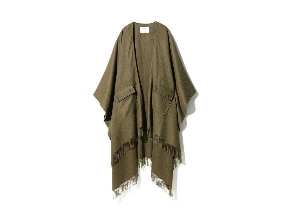 Poncho Blanket One Khaki