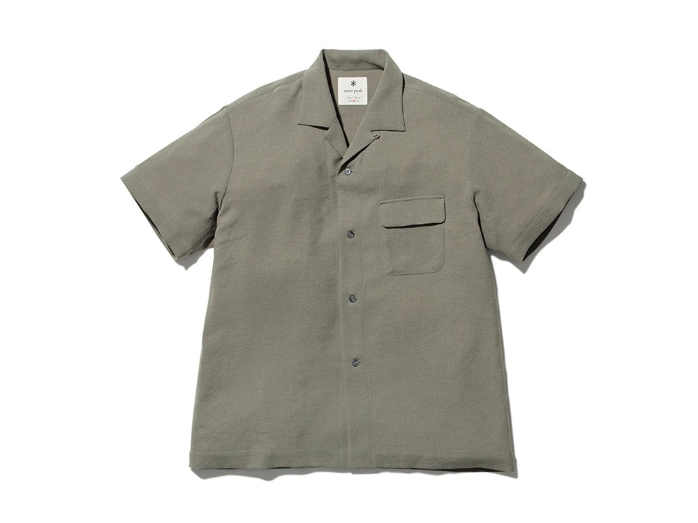 Quick Dry Crepe Weave Soft Shirt M OL