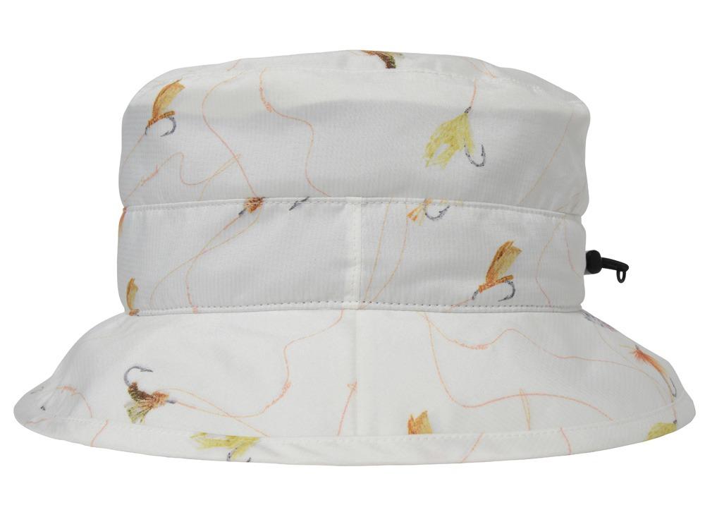 Wind Resistant Hat 2 White Print2