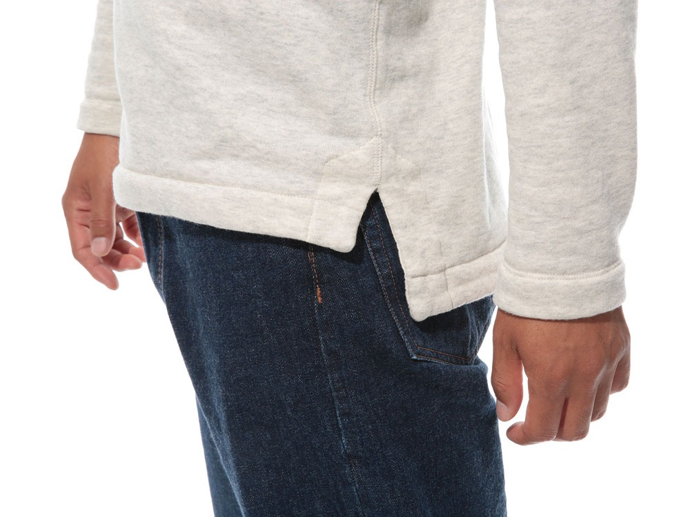 Cashmere Relaxin' Sweat Pullover L Oatmeal5