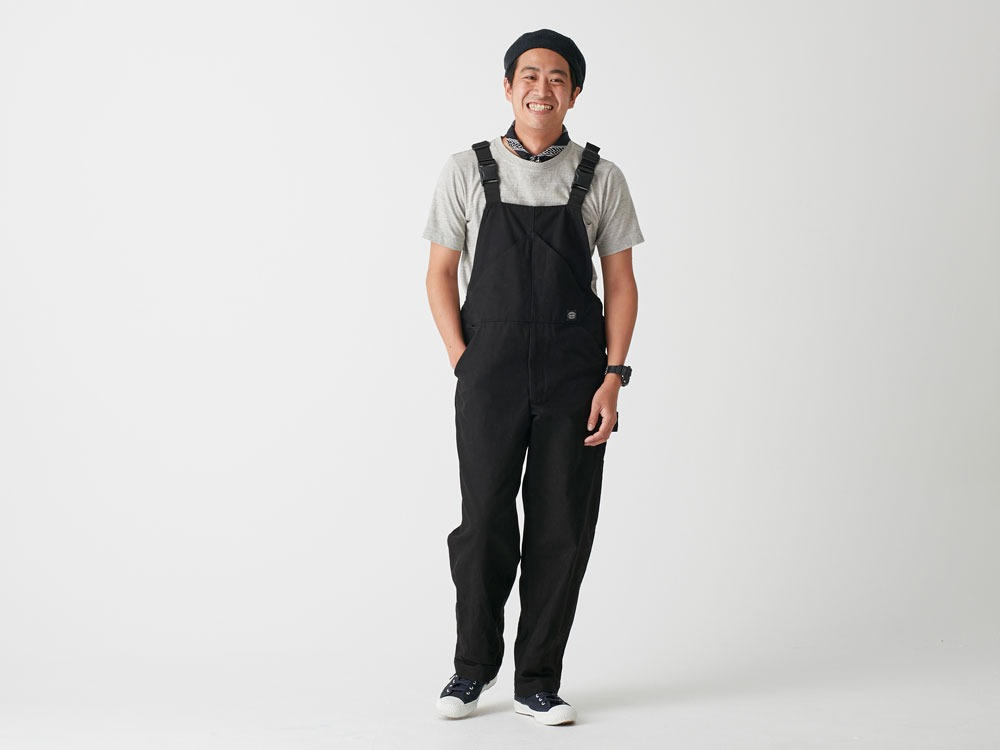 Camping Field Overalls 1 Black1