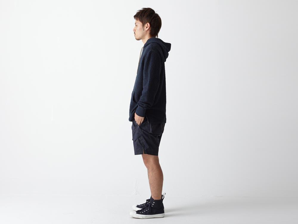 Indigo C/N  Anorak Shorts (Print)2