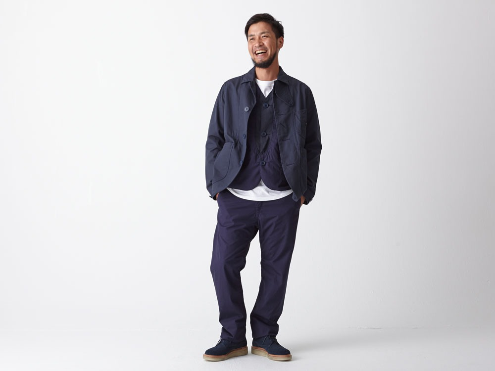 Ventile 3piece Pants #2 L Navy3