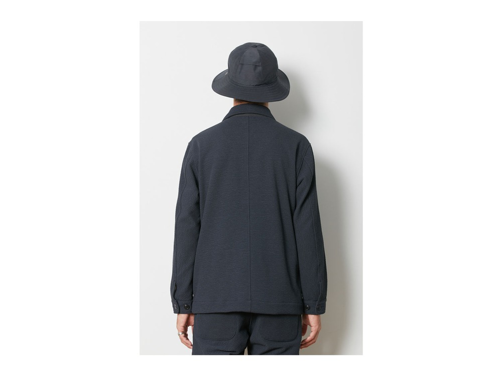 TAKIBI Knit Jacket  1 Black