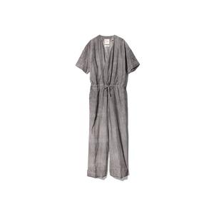 Hand-woven Cotton Silk TSUNAGI 2 SUMI