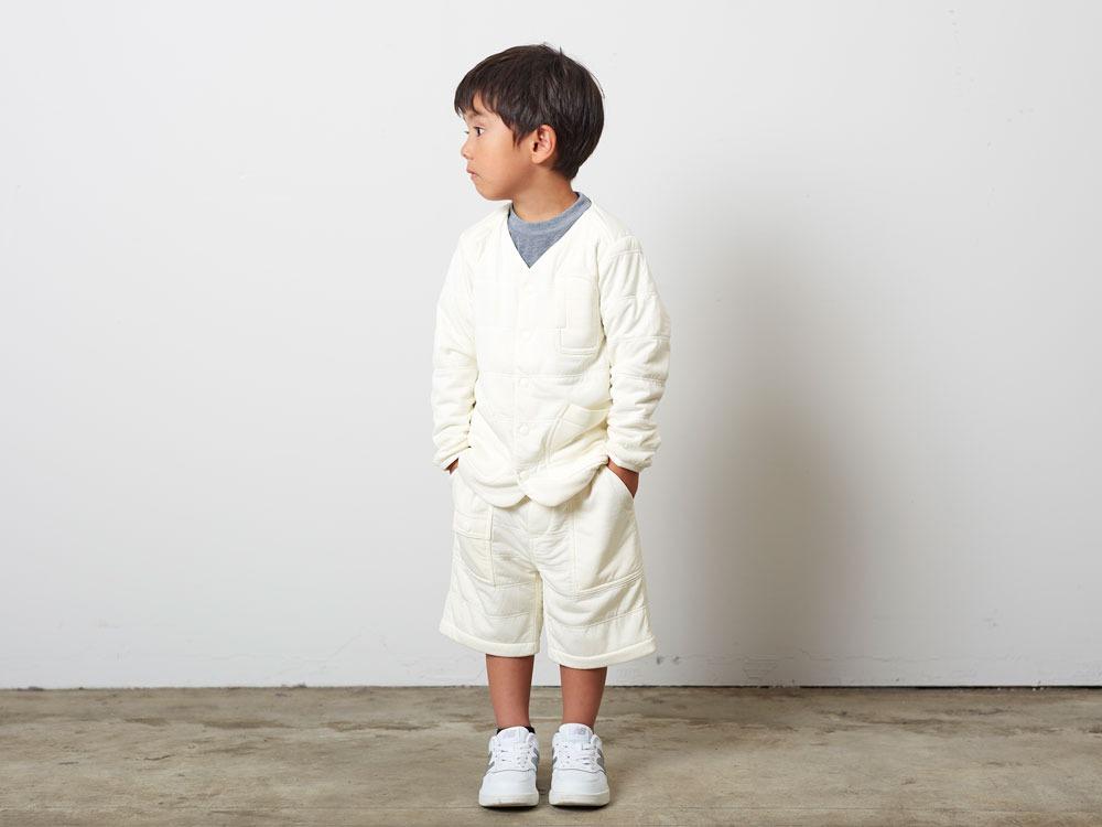 KidsFlexibleInsulatedCardigan 1 White1